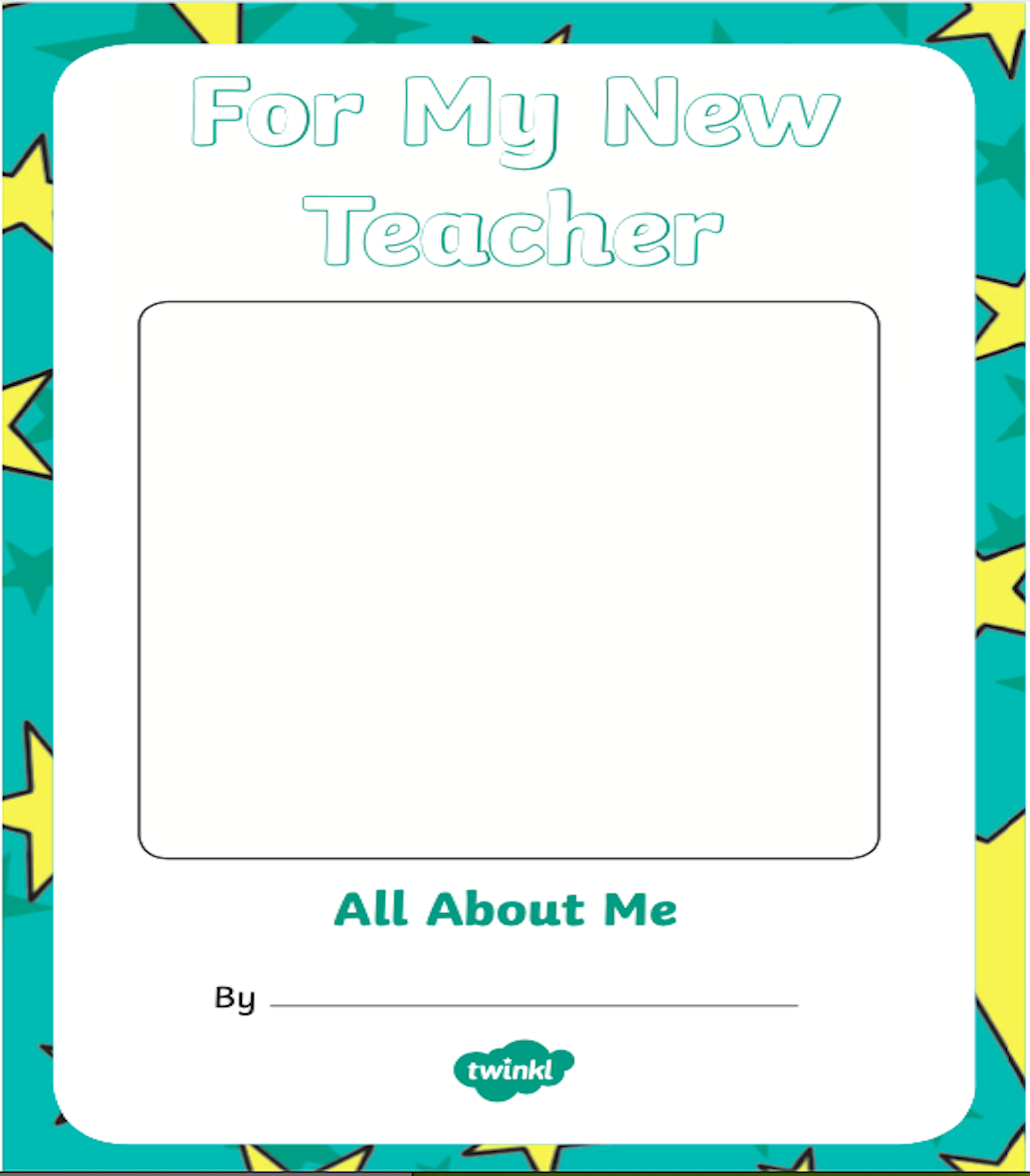 For My New Teacher