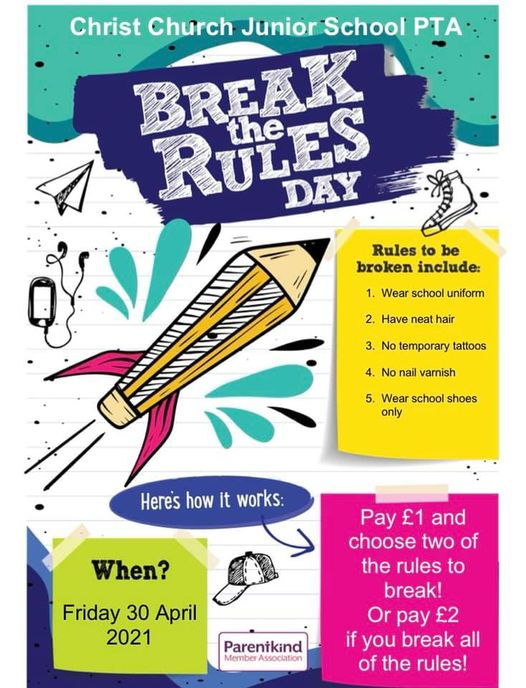 PTA Break the Rules Day!